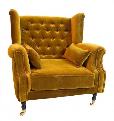 Fotel Philip My Home Armchair Wingback Armchair