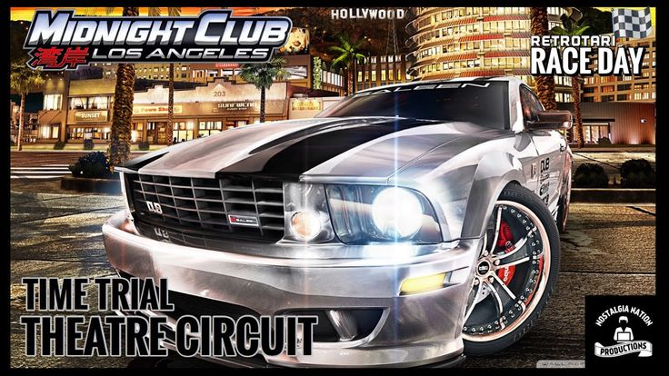 Midnight Club: Los Angeles (Time Trial-Theater Circuit) - YouTube  Midnight Club: Los Angeles is a racing video game developed and published by Rockstar Games. The game features 43 cars and 4 motorcycles. The open world map of Los Angeles is size of all three cities from the previous installment combined.