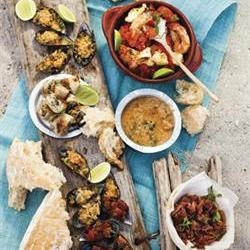 Seafood tapas/Seekos-tapas