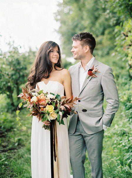 Осенняя элегантная свадьба