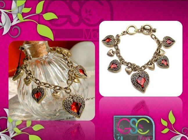#pulseras de #corazon  hermoso detalle para darle un toque especial a tu vestir #moda #estilo #fashion #caracas #venezuela #vzla #ccs #accesorios #ventas #navidad #mayor #catalogo www.gscmoda.com