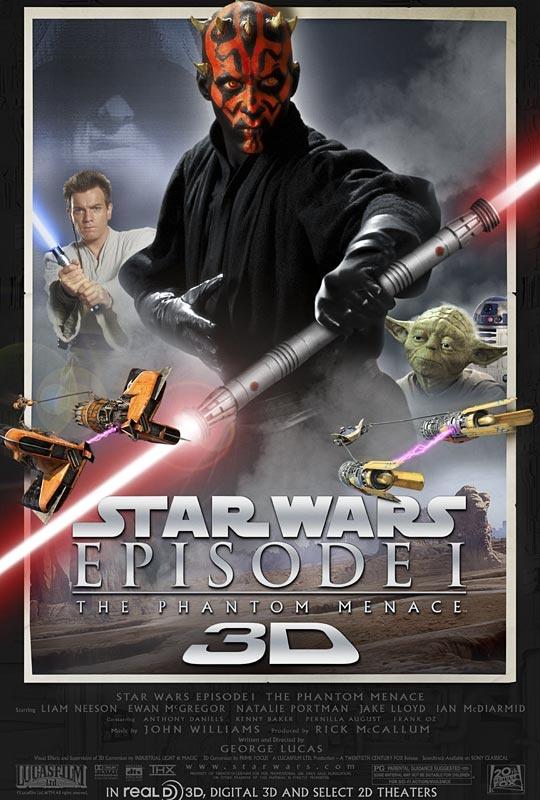 Star Wars Episode 1 3D
