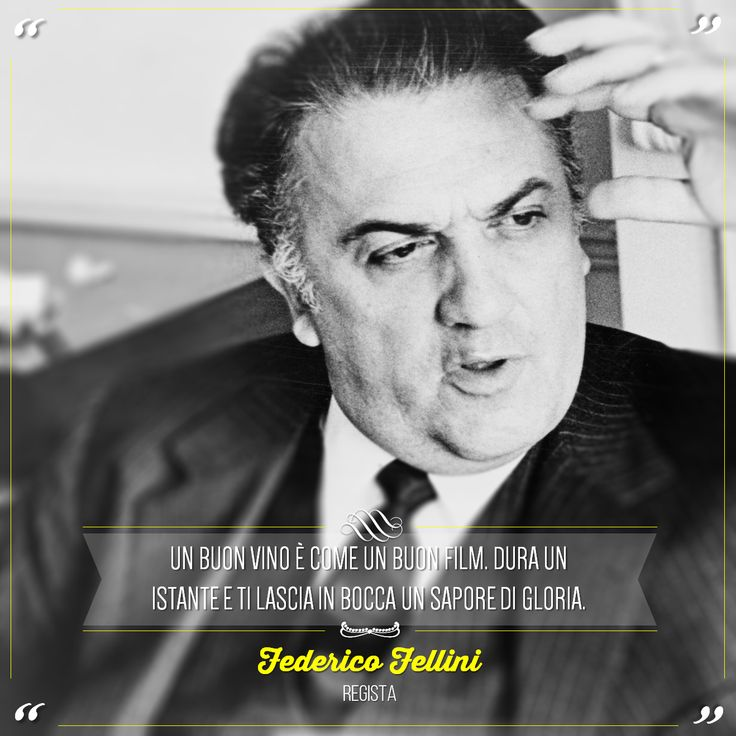 """""""A good wine is like a good movie. It lasts a moment and leaves a taste of glory."""" Federico Fellini was an Italian film director and scriptwriter. He is considered one of the greatest and most influential filmmakers of the 20th century. @marchesimazzei #marchesimazzei #fonterutoli #wine #tuscany #winequotes"""