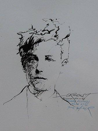Ernest Pignon Ernest, Rimbaud