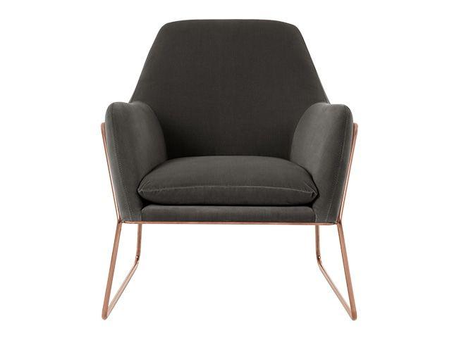 concrete velvet with copper frame 670€