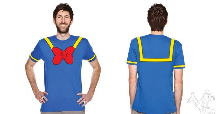 donald duck t shirt costume - 5k costume for Keenan.