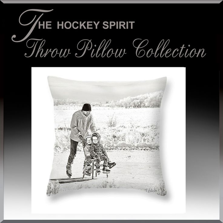 Hockey Room Decore.  Decorate your hockey loving kids room with Hockey Spirit Throw Cushions.  Over 100 different styles and sizes to choose from.  www.HockeyArt.org