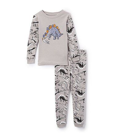 110f06eef Look what I found on  zulily! Gray Dino Pajama Set - Infant