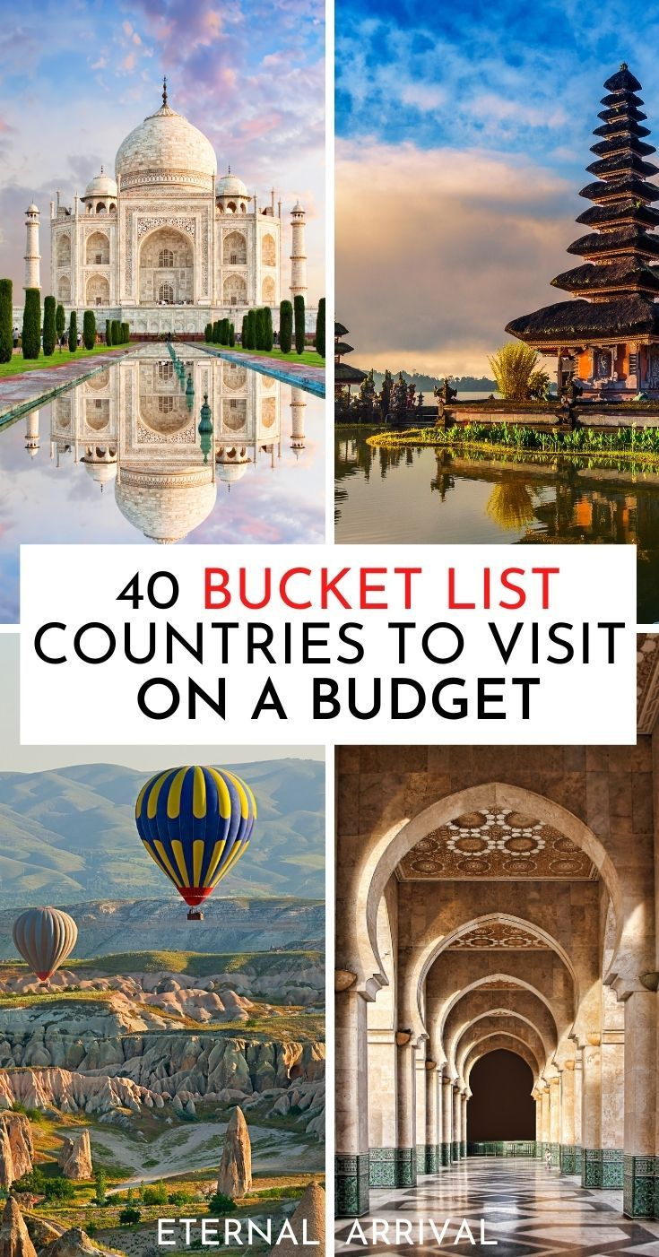 40 Cheapest Countries To Visit On 30 Per Day Or Less Eternal Arrival In 2020 Cheap Countries To Travel Travel Travel Destinations In India