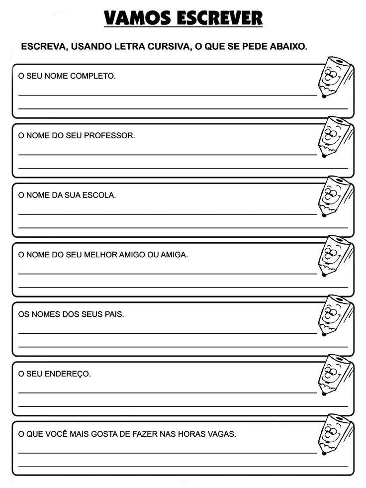 ATIVIDADES EDUCACIONAIS PARA O TERCEIRO ANO DO ENSINO FUNDAMENTAL