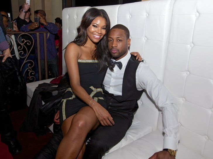 Pin for Later: 27 Hollywood Ladies and Their Hot Younger Guys Gabrielle Union and Dwyane Wade Age difference: 10 years Relationship status: Despite taking a break in 2013, the actress and basketball player married in September 2014.