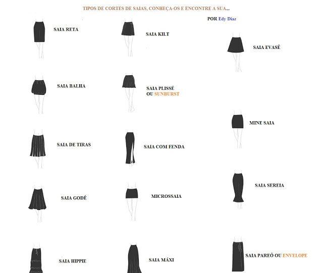 Mejores 7 imágenes de saias en Pinterest | Moldes de falda, Patrones ...