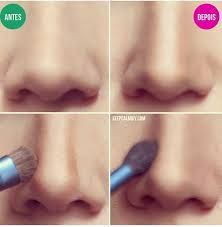 how to contour a big nose
