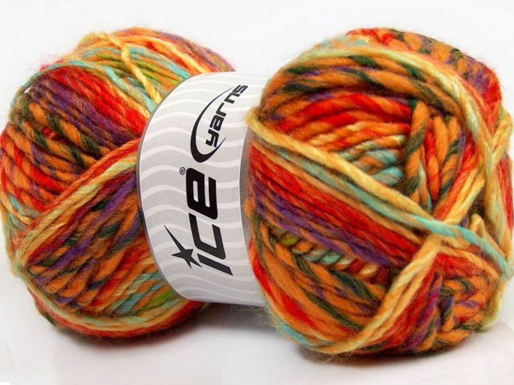 Mystique - bulky wool blend, perfect colours for autumn! Available at The Knitting Scientist Yarn Store!