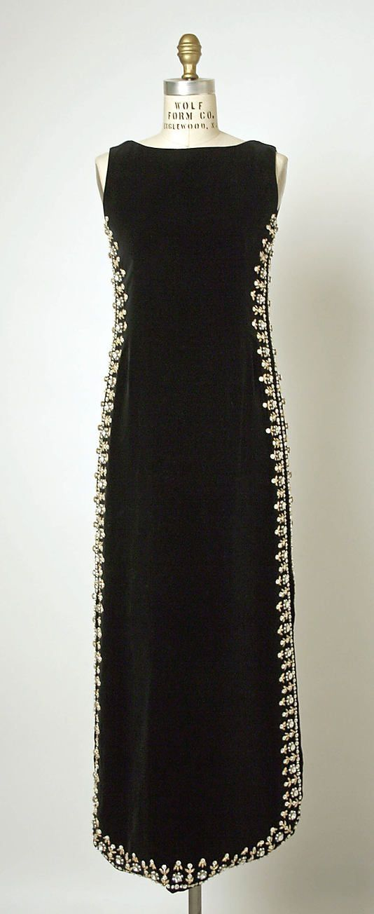 Dress, Evening House of Balenciaga. 1967 by Bahadzisi Msibi