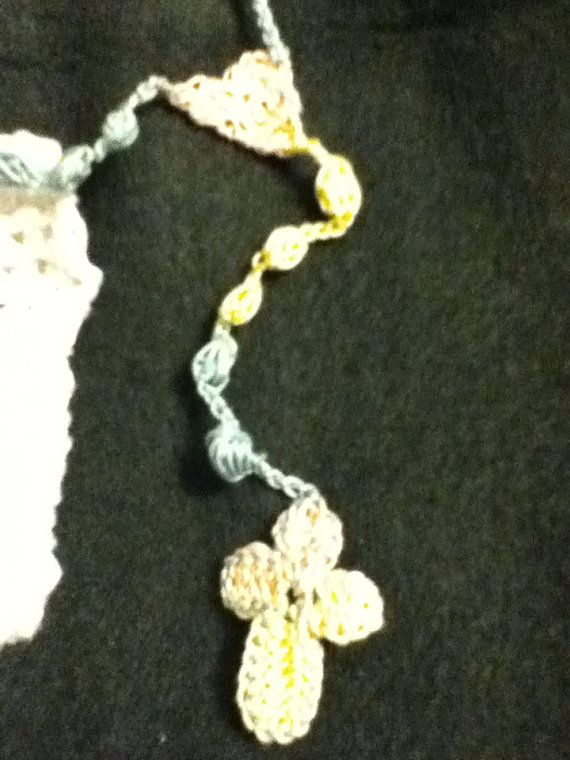 Crochet Rosary I Want To Learn How To Do This