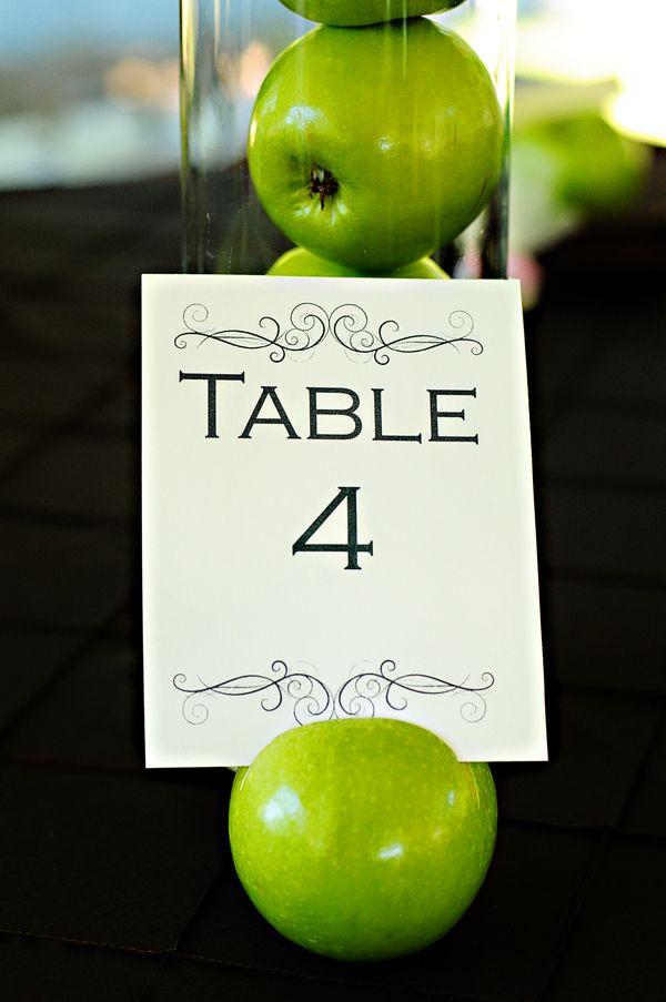 Green Apple Themed Rustic Wedding