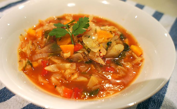 Tomato & Cabbage Soup