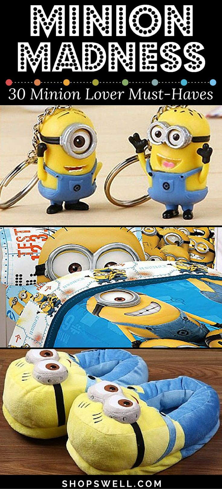 Minion Madness! 30 Cool Minion-Related Products