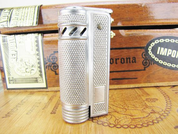 Vintage Cigarette Cigar Lighter Trench Lighter Duxette Karat