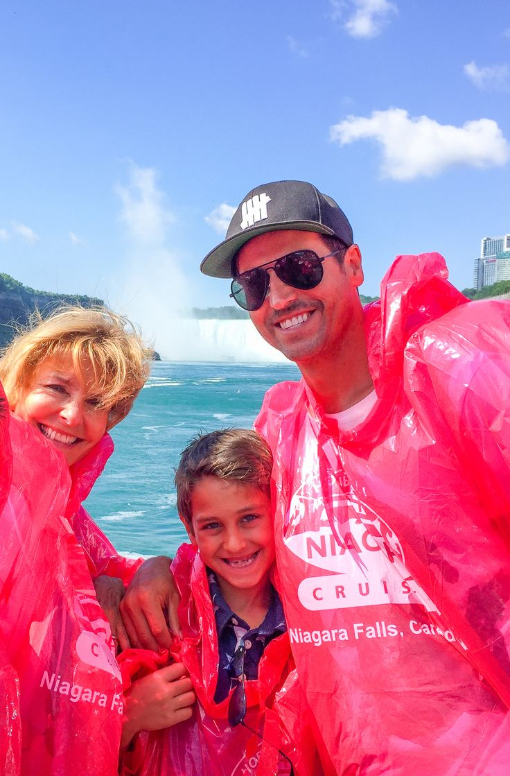 Raine Maida of Our Lady Peace and his family visited Hornblower Niagara Cruises before a show in Niagara on the Lake.