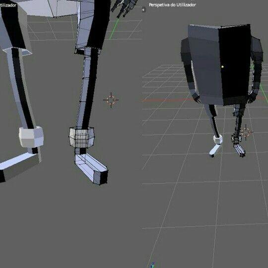 Finn o Humano modelagem 3D