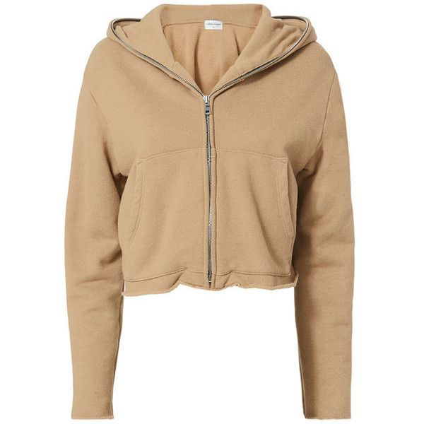 Cotton Citizen Manhattan Hoodie ($250) ❤ liked on Polyvore featuring tops, hoo…