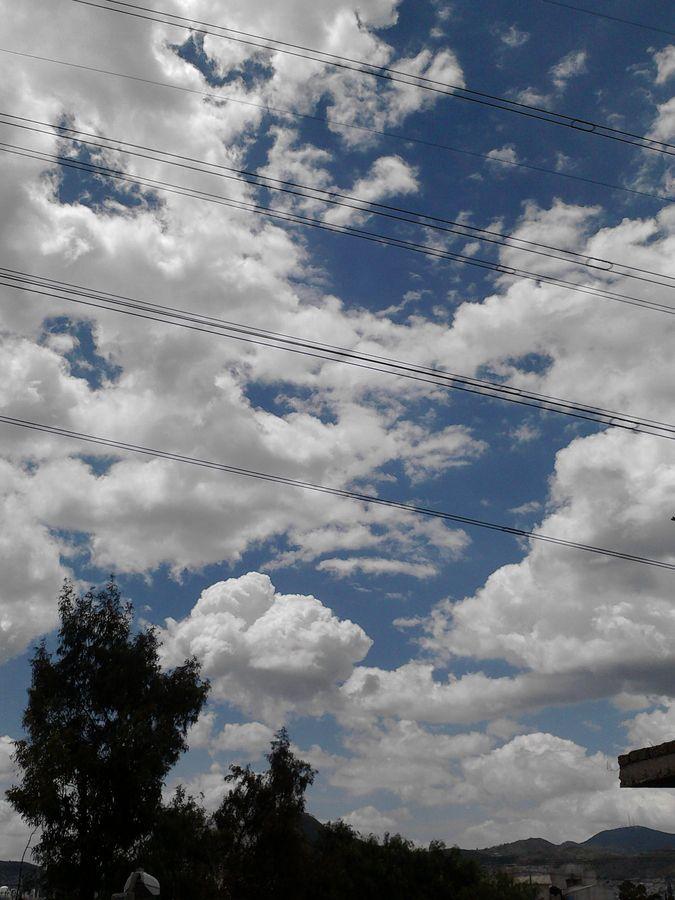 sky in the street