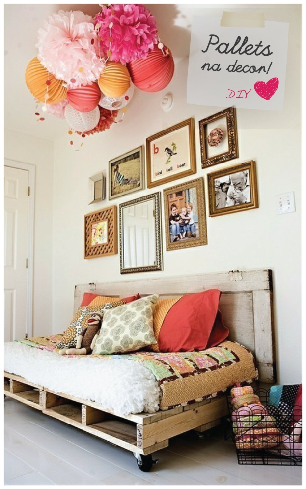 I love the pallet need idea. Especially if I had a country or beach house.