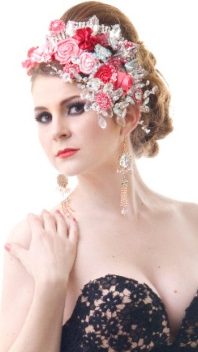 24 best tocado para bodas y xv años estilo barroco envió a cualquier ...