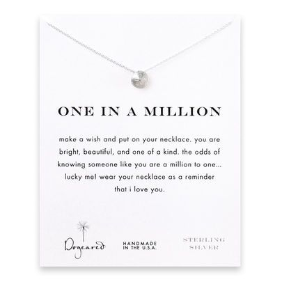 I need this. one in a million sand dollar necklace, sterling silver