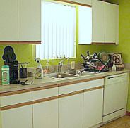 """How to Refinish (""""garage style"""") Kitchen Cabinets - *Maybe for in a basement?"""