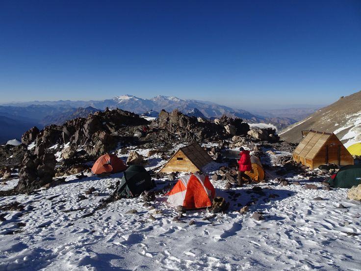 Camp Berlín 5930 Mts Aconcagua