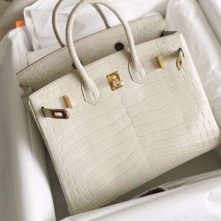 Hermès 25cm Birkin | Beton | Matte Niloticus Crocodile | Gold Hardware | 2016
