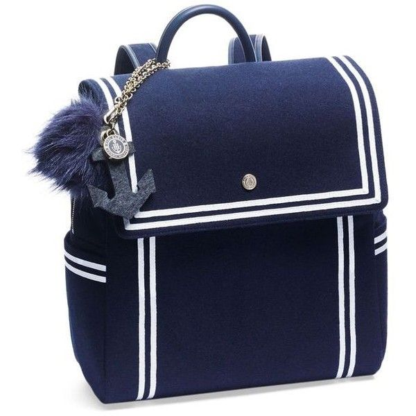 TOMMYXGIGI Nautical Backpack ❤ liked on Polyvore featuring bags, backpacks, day pack backpack, knapsack bag, rucksack bags, tommy hilfiger bags and daypack bag