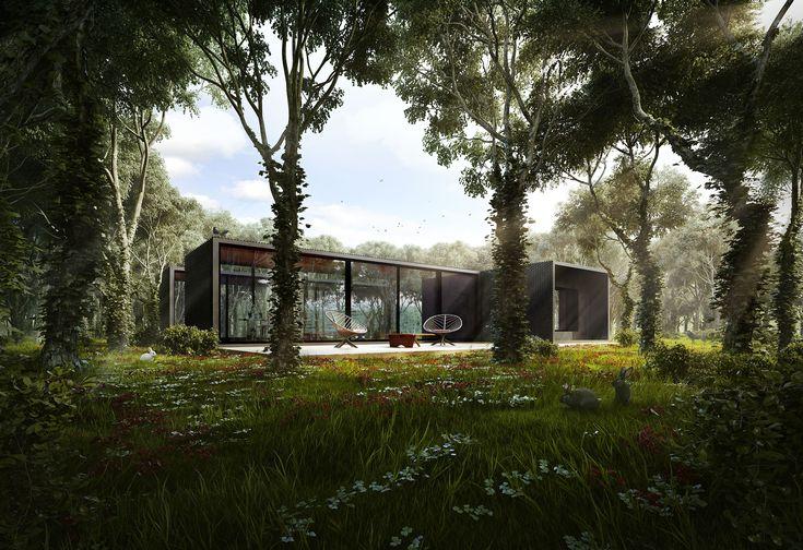 Silent House by Merêces Architecture Vizualization Studio