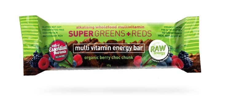 SGR-Bar love love love our new Multivitamin Energy bar from Nutra Organics xx
