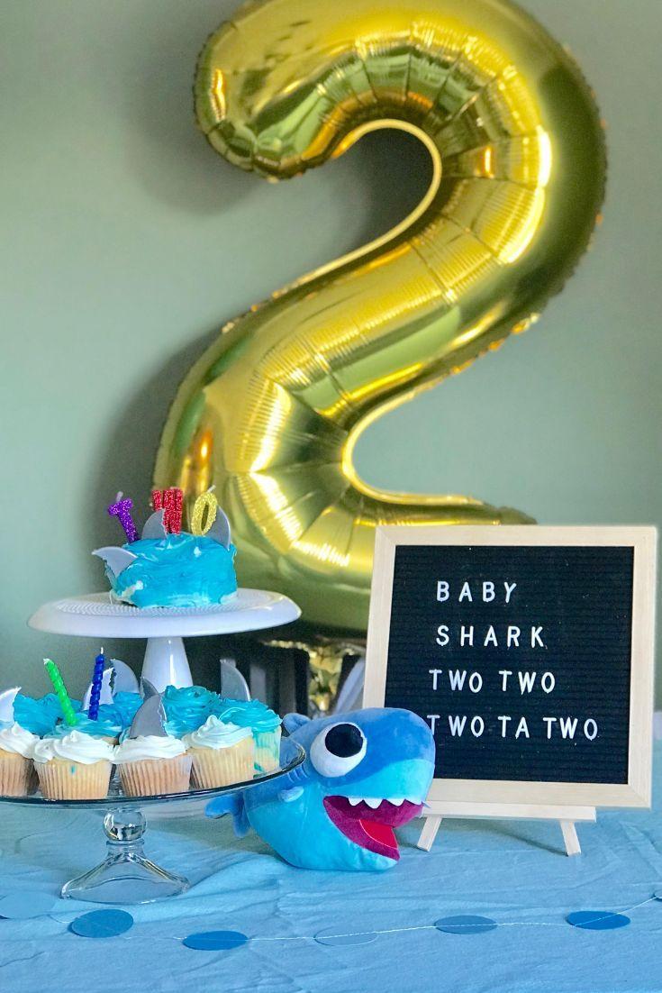 For Your Little Shark Lover Super Simple Baby Shark Second Birthday Party Ww Shark Themed Birthday Party 2nd Birthday Party For Boys Shark Theme Birthday