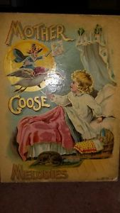 Mother Goose Melodies, De Wolfe, Fiske and Company, 361 and 365 Washington Street, Boston, Inscribed for Christmas 1901.