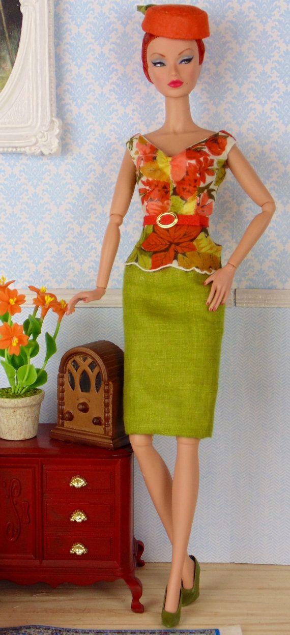 Fresh Fall for Silkstone Barbie Victoire Roux & by HankieChic