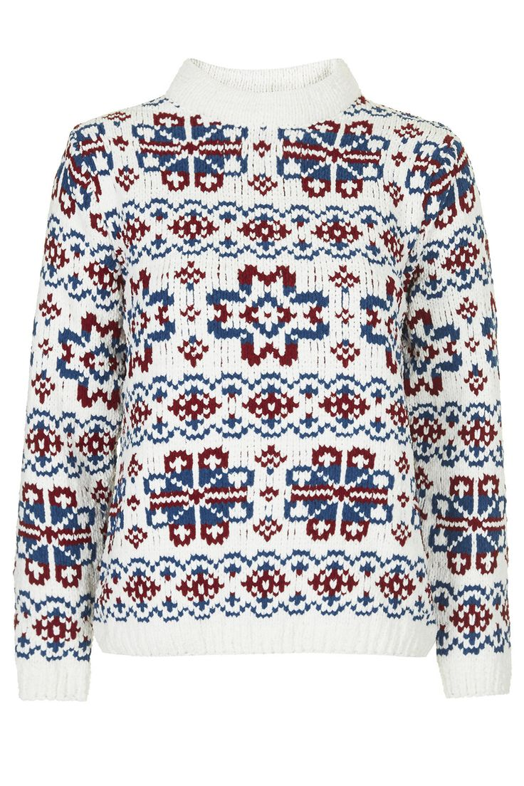 Fairisle Patterned Jumper by Boutique