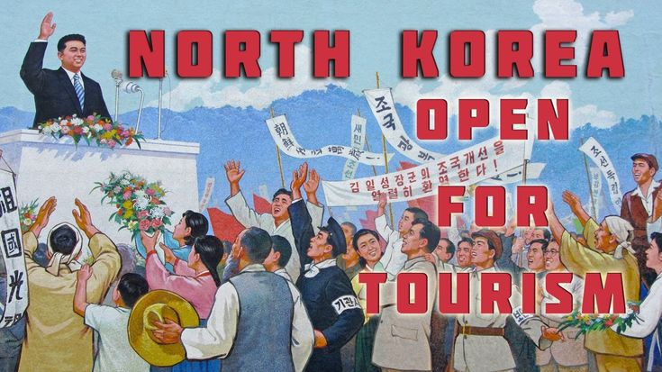 How is North Korea trying to lure Western visitors with launching nuke and missile? It's like  threatening with guns and saying 'come to visit'.