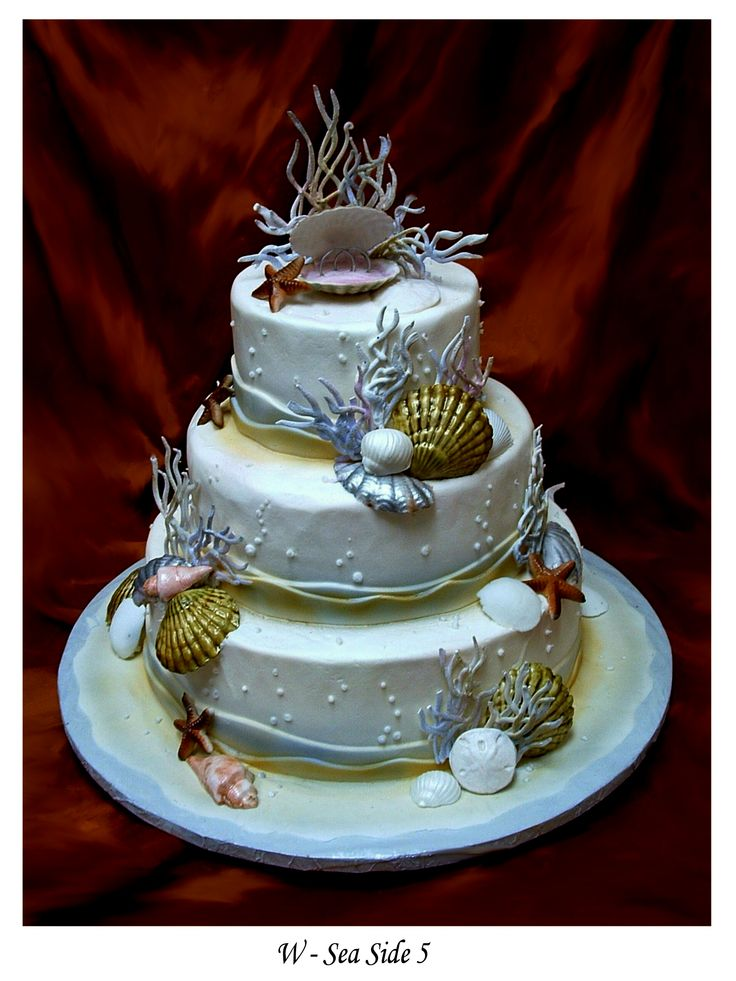 sea life wedding cake toppers 221 best images about aquarium wedding cakes on 19709