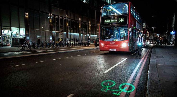 El foco láser para bicicletas que ya usan todas las bicis públicas de Londres