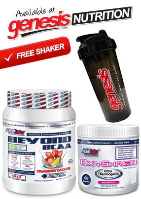 Beyond BCAA + OxyShred + Genesis Shaker by EHP Labs - New to Genesis - Specials  PrimaForce Dendrobium Powder - New to Genesis - Specials - Shop Online @ www.genesis.com.au