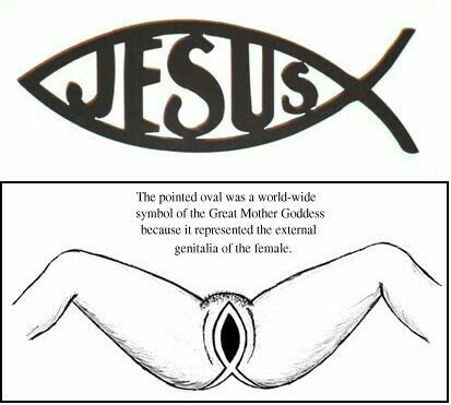 203 best things that make you go hmmm images on for What does the fish symbol mean in christianity