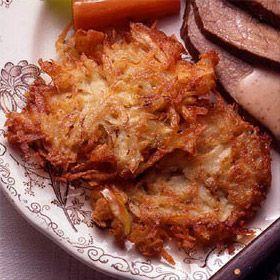 Potato-Apple Latkes | Recipe