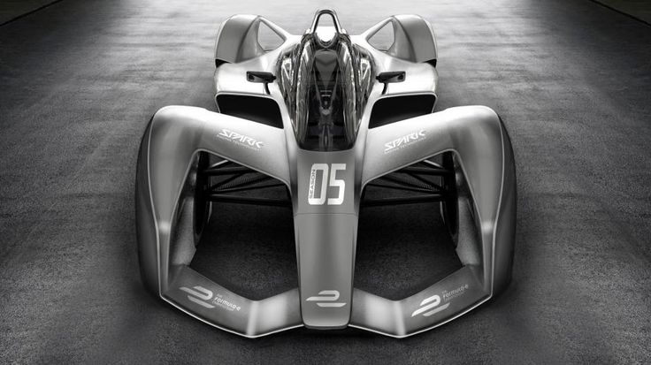Elektrische racewagens krijgen futuristisch design