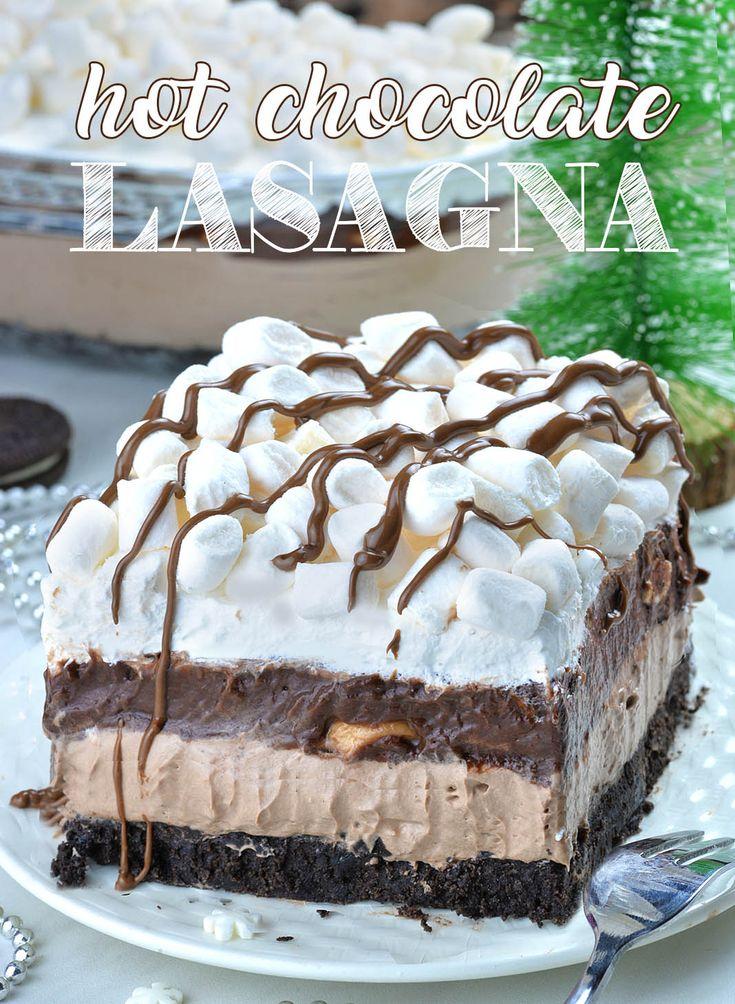 Hot Chocolate Lasagna