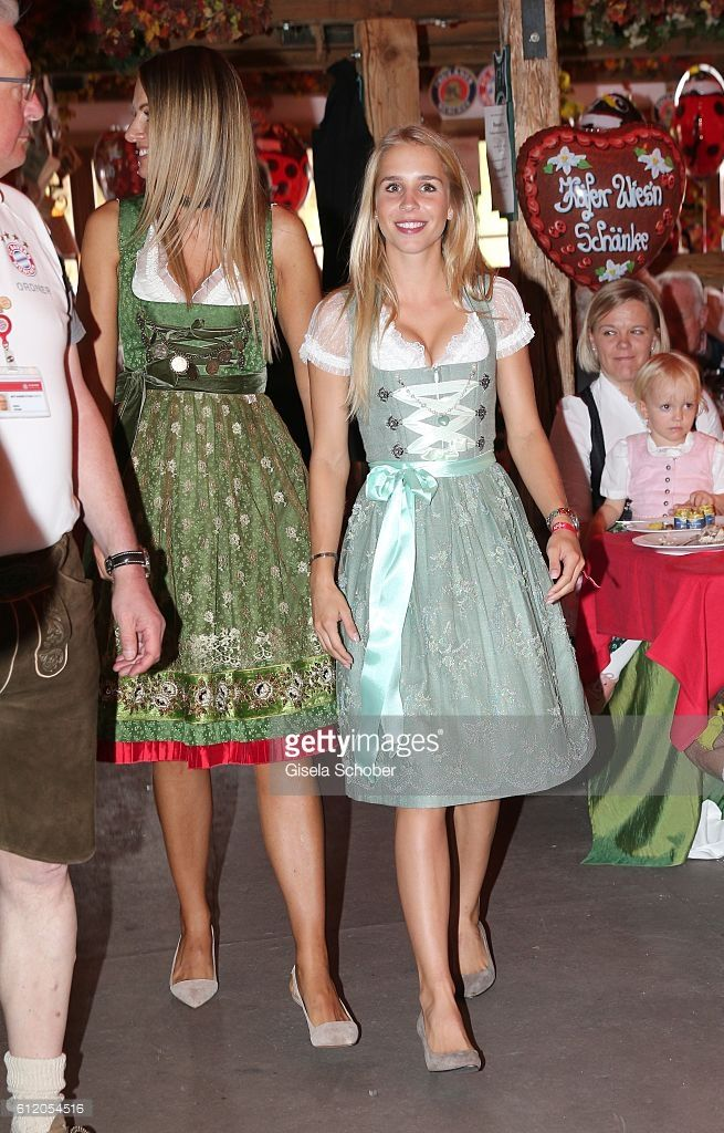 Nina Weiss, girlfriend of Manuel Neuer attends the 'FC Bayern Wies'n' during the Oktoberfest at Kaeferschaenke / Theresienwiese on October 2, 2016 in Munich, Germany.